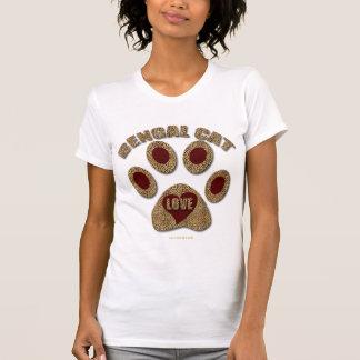 Camisa de la impresión del guepardo de la raza del