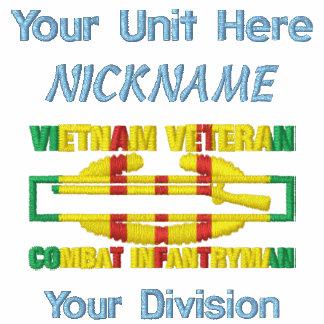 Camisa de la insignia del soldado de infantería de