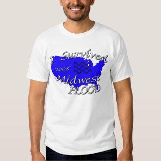 Camisa de la inundación de Cercano oeste