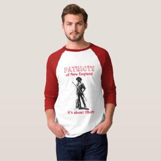 Camisa de la libertad de los patriotas - historia