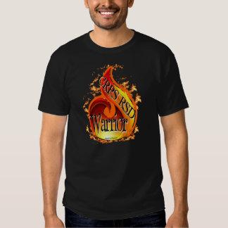 Camisa de la llama del guerrero de CRPS/RSD