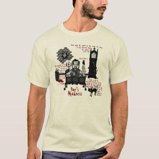 """""""Camisa de la locura del Poe"""" (versión 2) Playera"""