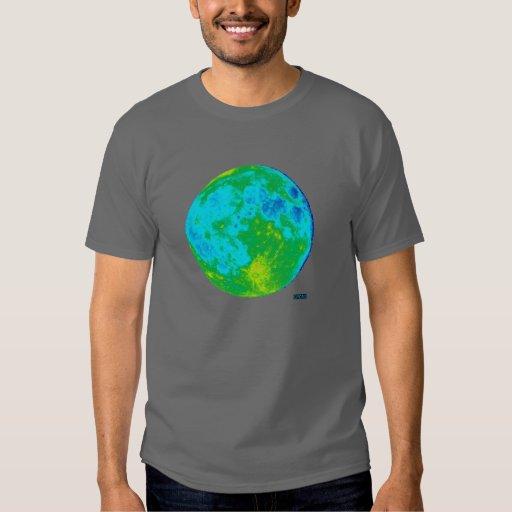 Camisa de la luna del arte pop del CYCAD