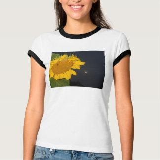 Camisa de la luna del girasol