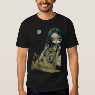 Camisa de la luna del lobo