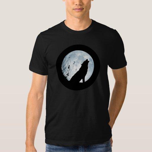 Camisa de la Luna Llena del hombre lobo