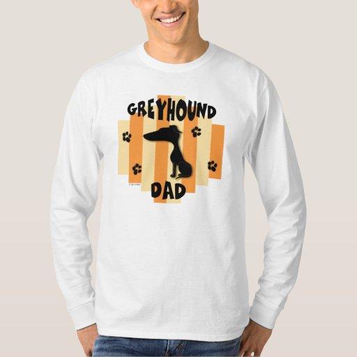 Camisa de la luz del papá del galgo