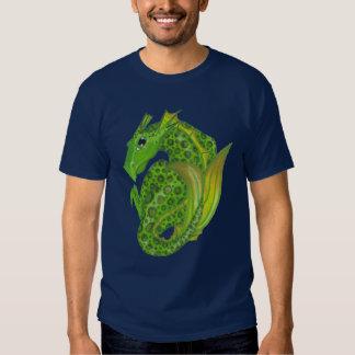 Camisa de la magia del elemento del dragón de agua