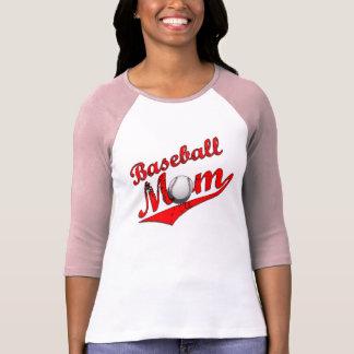 Camisa de la mamá del béisbol