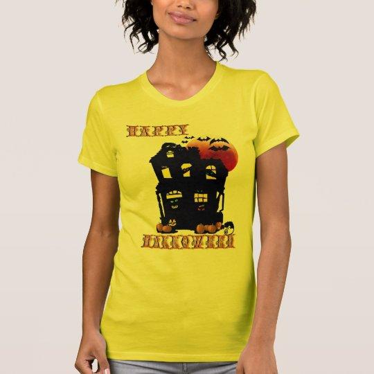 Camisa de la mansión del feliz Halloween