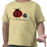 Camisa de la mariquita de la hermana grande