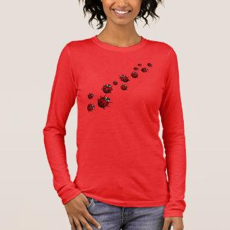 Camisa de la mariquita del tamaño extra grande de