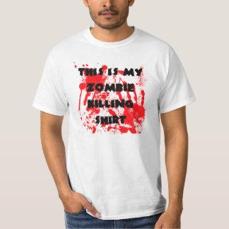 Camisa de la matanza del zombi