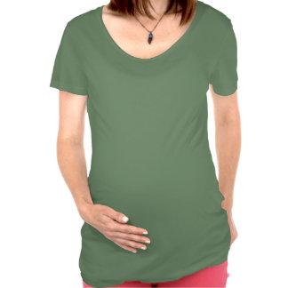 Camisa de la maternidad de la primera fila