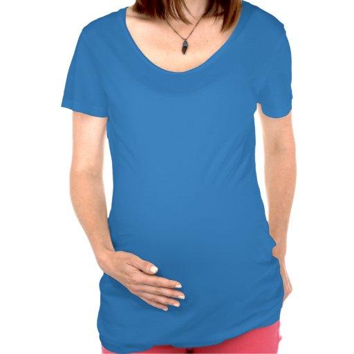 Camisa de la maternidad del pastel de calabaza