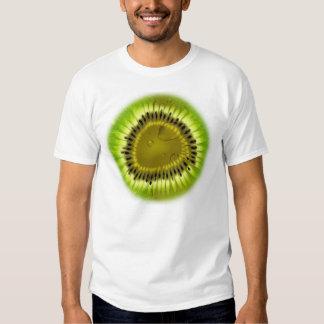 Camisa de la mezcla del kiwi