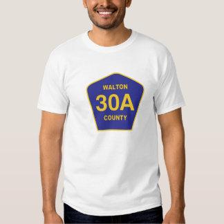 Camisa de la muestra de la carretera 30Al condado