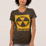 Camisa de la muestra del refugio de polvillo radia