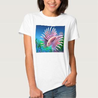 Camisa de la muñeca de las señoras del Lionfish