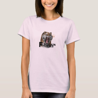 Camisa de la muñeca del Armageddon de los caballos