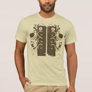 Camisa de la música de DJ
