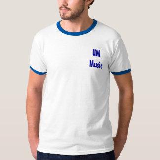 Camisa de la música del UM
