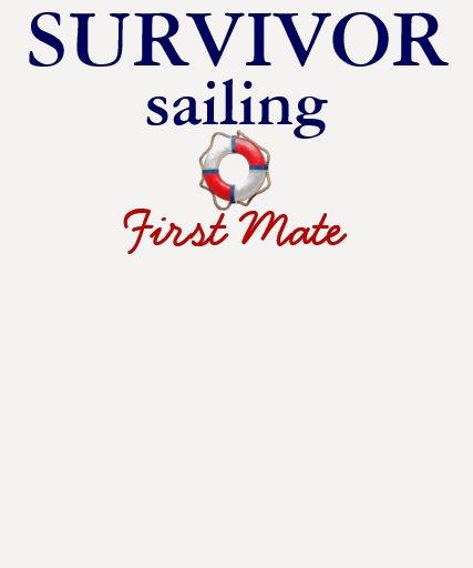 Camisa de la navegación del superviviente