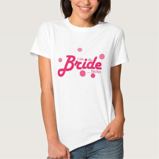 "Camisa de la novia - ""soy las perras de la novia…"""