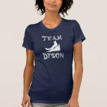 Camisa de la oscuridad de Dyson del equipo