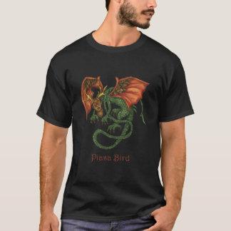 Camisa de la oscuridad del pájaro de Piasa