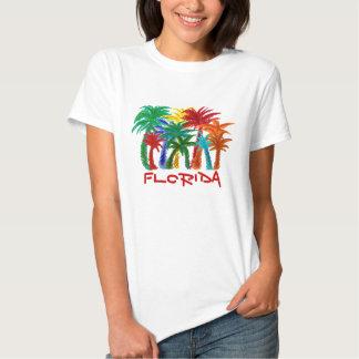 Camisa de la palmera de la Florida