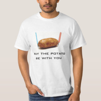 Camisa de la patata de la fuerza