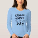 Camisa de la paz, del amor y de la cacerola