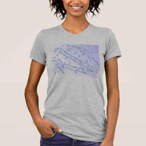 camisa de la perla de la lila