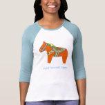 Camisa de la pintura del caballo de Dala