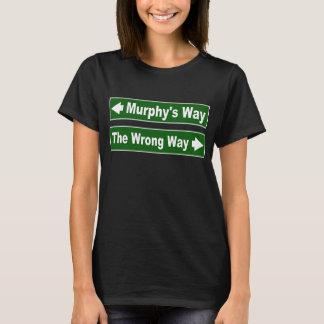Camisa de la placa de calle de la manera de Murphy