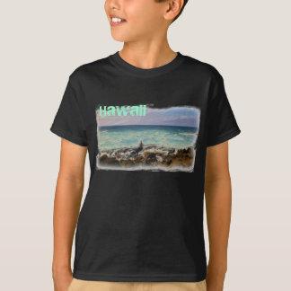 Camisa de la playa de Hawaii de los muchachos