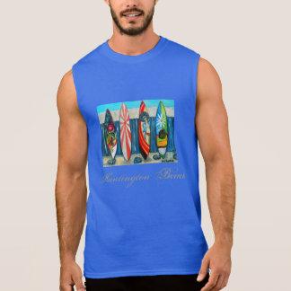 Camisa de la playa de la persona que practica surf