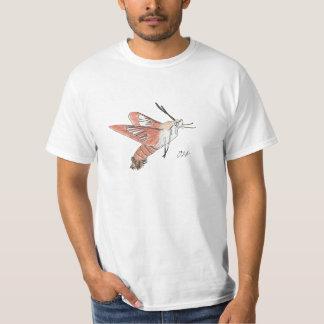 Camisa de la polilla de Clearwing del colibrí