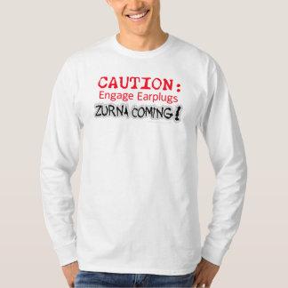 Camisa de la precaución de Zurna