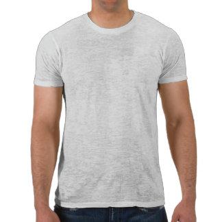 Camisa de la quemadura de los hombres de la sepia