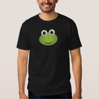 Camisa de la rana de los hombres