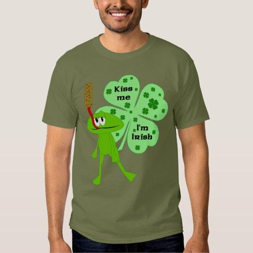 Camisa de la rana del día de St Patrick divertido