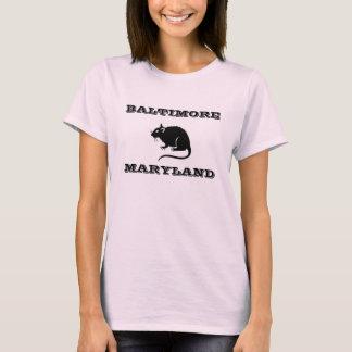 Camisa de la rata de Baltimore Maryland