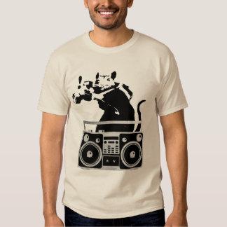Camisa de la rata de la cámara de Boombox