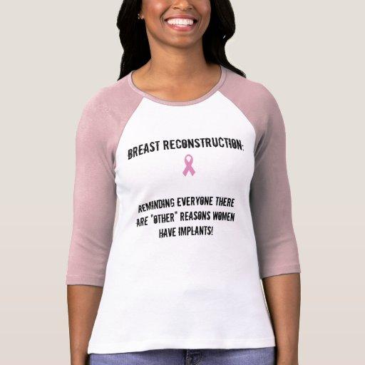 Camisa de la reconstrucción del pecho