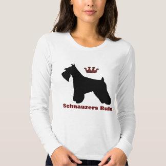 Camisa de la regla de los Schnauzers