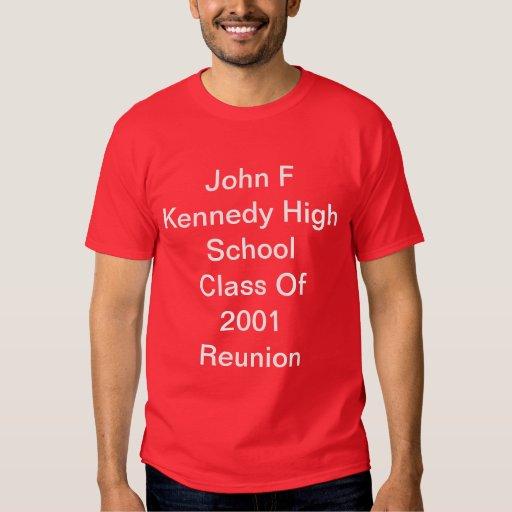 Camisa de la reunión de JFK