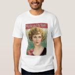 Camisa de la revista de la película del vintage de