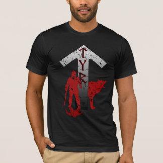 Camisa de la runa de Tyr y de Fenrir